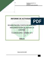 INFORME DE ACTIVIDADES - FLUOROSCOPIA CABINA N°2