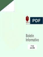 Boletin Informativo Abril 2004