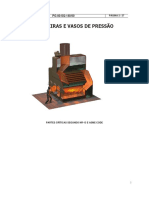 Caldeiras e Vasos de Pressão - DCS's - Manual