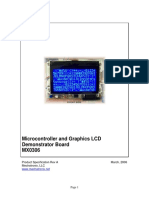 Microcontroller and Graphics LCD