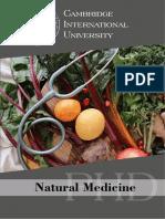 Natural Medicine PHD