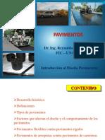 Cap. I - Pavimentos - Generalidades - Introducción