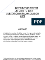 BSES Report 11KVA substation