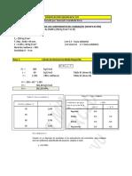 Dosificación Según NCh 170 H-25