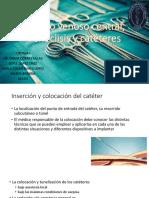 Acceso venoso central, venoclisis y catéteres.pptx