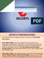 179820652 Escorts Tractors Workshop Faridabad Power Point Slide Pptx