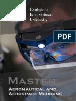Aeronautical and Aerospace Medicine Mst