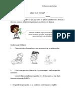 GUIA DE LA FUERZA 4 ° BASICO