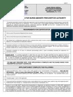 imedapp - initial application for nurse-midwife prescriptive authority