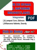 Club de Roma y El Informe Brundtland