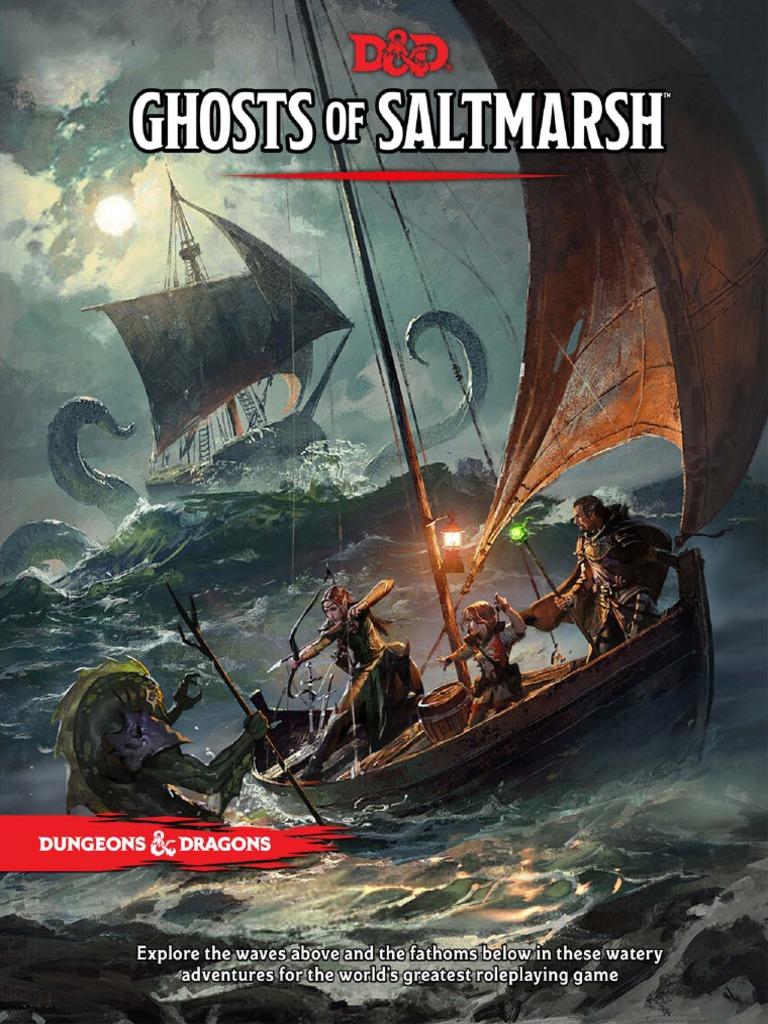 DnD 5e - Aventura - Ghosts of Saltmarsh | Sea | Dungeons & Dragons