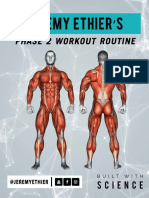 Beginner Main Workout PDF (Phase 2)