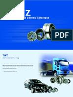 ZWZ Automobile Bearing Catalogue