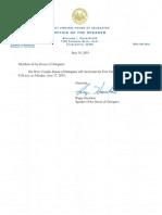 Reconvene Letter 5-30-19