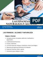 Alcance y Naturaleza Del Manejo de Las Finanzas
