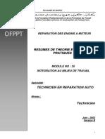 Www.ofpptmaroc.com Module 06 Integration Au Milieu de Travail Tra Ofppt