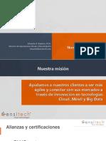 Ensitech - Agile Analytics v3.0