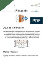 Filtración Presentación(Metodos Aplicaciones)