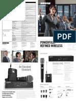 Qlxd Wireless Brochure English