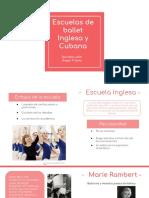 Escuela inglesa y cubana .pptx