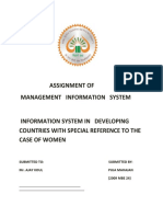 Information System in Developing Countries