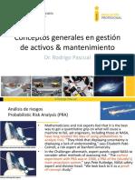 Conceptos Generales en Gestión de Activos y Mantenimiento