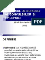 Procesul de Nursing Al Convulsiilor Si Epilepsiei