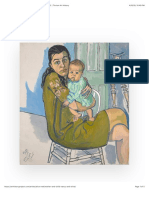 Alice Neel - Mother and Child (Nancy and Olivia), 1982 | Trivium Art History