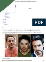 Robert Downey Jr. Cayó en Las Drogas y Alcoholismo Gracias a Su Padre Artículo Upload