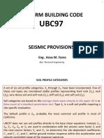 Seismic Design UBC97 Code