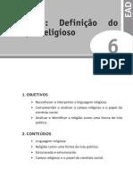 Sociologia Da Religião 6
