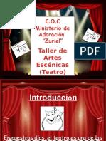 Taller de Teatro..Diapositivas