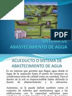Sistema de Abastecimiento de Agua 1