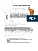 fox and rabbit population lab