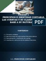UNIDAD 1 Principios e Identidad Contable Las Cuentas y Su Clasificación en Base a Su Naturaleza