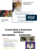 Creatividad y Expresión Artística Propuesta Para LA GUIA Final