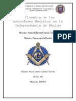 Influencia de las Sociedades Secretas en la Independencia de México