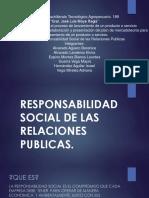 La Responsabilidad Social de Las Relaciones Publicas