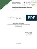 Política Externa Política Pública Pinheiro Milani Abri2013