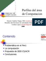 Perfiles Internacionales de La Carrera de Computación