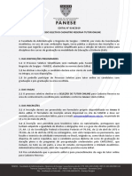 Edital Processo Seletivo Cadastro Reserva Tutor Online 2019.2