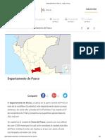 Departamento de Pasco - Viajar a Peru