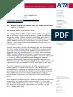 PETA letter to state regarding SeaQuest in Woodbridge
