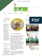 Coxinha de _Carne de Jaca_ - Presunto Vegetariano
