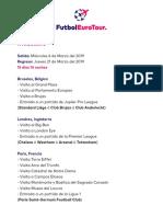 Itinerario-FutbolEuroTour