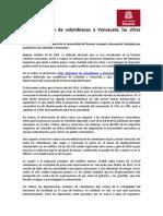 PDF Flujo Migratorio de Colombianos a Venezuela Las Cifras Cuentan