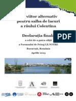 Outcome Statement Landscape Forum Bucharest RO 20150520