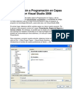 Programación en Capas Con Visual Studio 2008