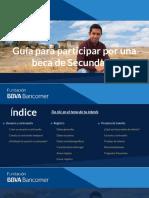 Guia Registro Becas Bbva Bancomer 2019