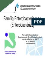 5 Aula Enterobacteriaceae